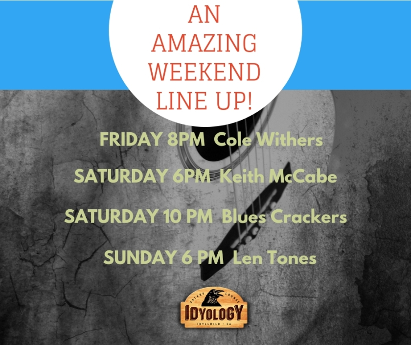 An AmazingWeekend Line Up!